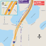 Temporary WB I-4 Left Exit Ramp to Colonial Drive Closing Permanently