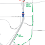 Princeton Street Nightly Ramp Closures Scheduled April 8-15