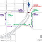 Kaley Avenue under I-4 Closing for Three Nights
