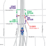 Pine Street under I-4 Closing for One Week