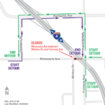 Formosa Avenue and Minnesota Avenue Closing Continuously