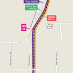 Westbound I-4 Shifting to Final Alignment in Seminole County