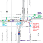 Westbound State Road 408 over I-4 Closing Overnight July 12