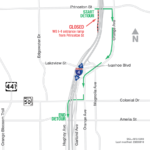 Westbound I-4 Ramps at Princeton Street Closing Nightly August 10 – 13
