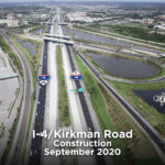 I-4 Ultimate Opens New Eastbound I-4 Ramp from Kirkman Road