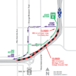 WB I-4 from Michigan St. to Orange Blossom Trail Closing as Early as the Morning of September 19