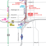 Westbound I-4 from Colonial Drive to South Street Closing Early Morning September 25