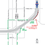 Eastbound I-4 Entrance Ramp from Michigan Street Closing Nightly
