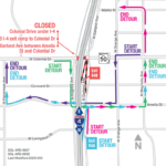 Colonial Drive Under I-4 Closed Over Weekend; Eastbound I-4 to Close for  One Night