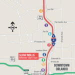 Traffic Pacing Operation on Westbound I-4 between Maitland Boulevard and Kaley Avenue Scheduled for February 6