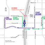 Colonial Drive under I-4 Closing Nightly February 7 – 11