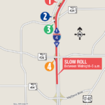 Traffic Pacing Operation on Westbound I-4 between E.E. Williamson Road and Wymore Road Scheduled for February 17