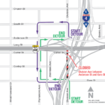 Division Avenue from Anderson to Gore Street Closing Nightly March 2 - 22