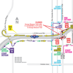 Orange Blossom Trail Under I-4 Closing Nightly March 16 – 22