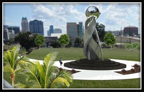 Artist rendering of sculpture