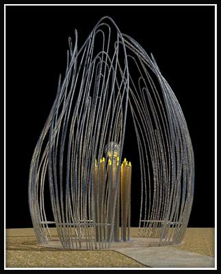 Photo of metal sculpture