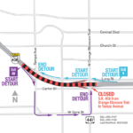 State Road 408 from Orange Blossom Trail to Tampa Avenue Closing Overnight May 1
