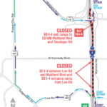 Eastbound I-4 Between Lee Road and Maitland Boulevard Closing Early Morning April 9