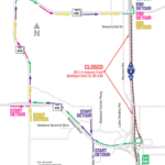 Eastbound I-4 Closing Between Maitland Boulevard and State Road 436 Early Morning April 7