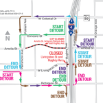 Hughey Avenue Intersection at Livingston Street Closing Weekend of July 16