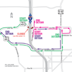 Lee Road under I-4 Closing the Weekend of August 20
